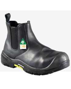 Baffin Men's Zeus Waterproof Work Boots - Composite Toe, Black, hi-res