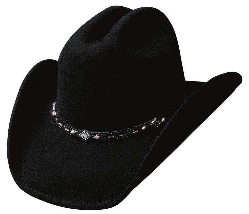 Bullhide Men's Wagoneer Wool Hat, Black, hi-res