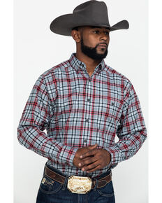 Ariat Men's Ellixon Performance Flannel Long Sleeve Western Shirt , Multi, hi-res