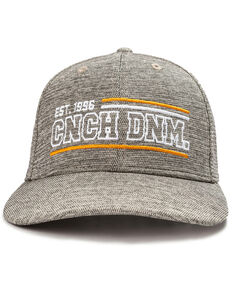 Cinch Men's Fitted Logo Ball Cap, Heather Grey, hi-res