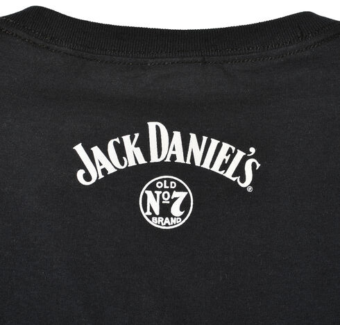 Jack Daniel's Men's Jack Lives Here T-Shirt, Black, hi-res