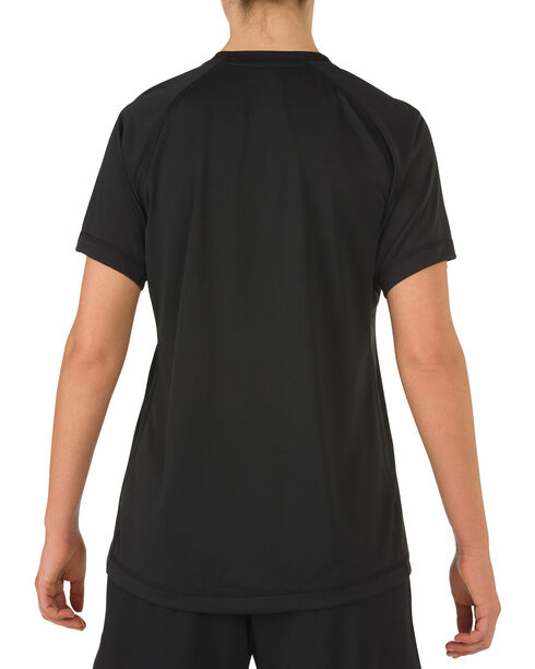 5.11 Tactical Women's Utility PT Shirt, Black, hi-res