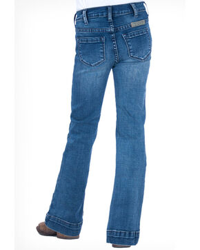 Cowgirl Tuff Girls' Medium Trouser Jeans , Blue, hi-res