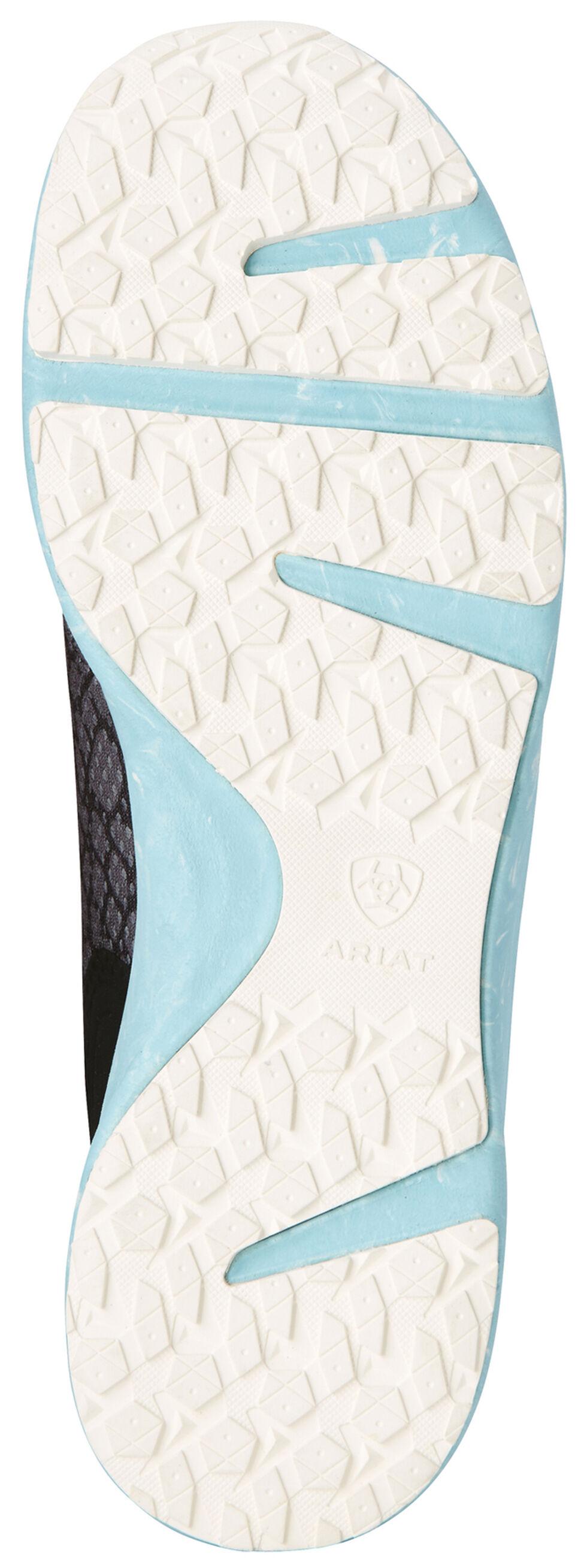 Ariat Women's Grey Fuse Snake Shoes, , hi-res