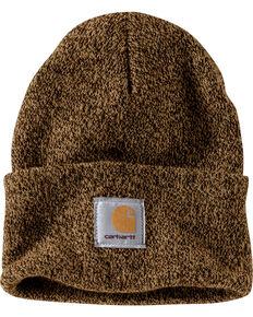 Carhartt Men's Brown Acrylic Watch Hat , Brown, hi-res