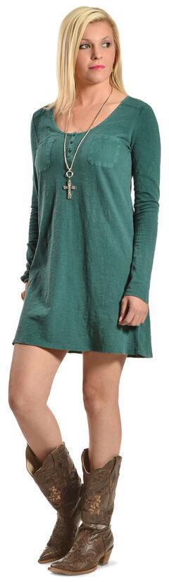 Others Follow Women's Enchanted Dress, Evergreen, hi-res