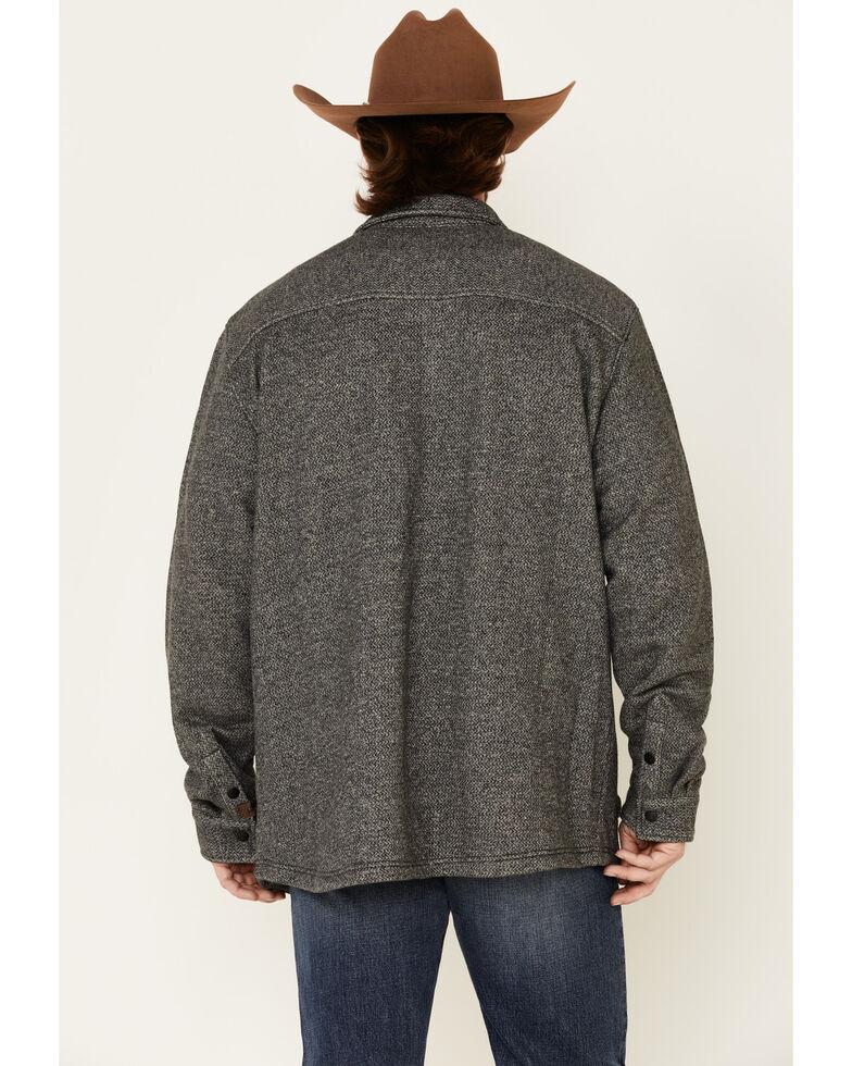 Dakota Grizzly Men's Ink Hogan Plaid Long Sleeve Western Flannel Shirt , Grey, hi-res