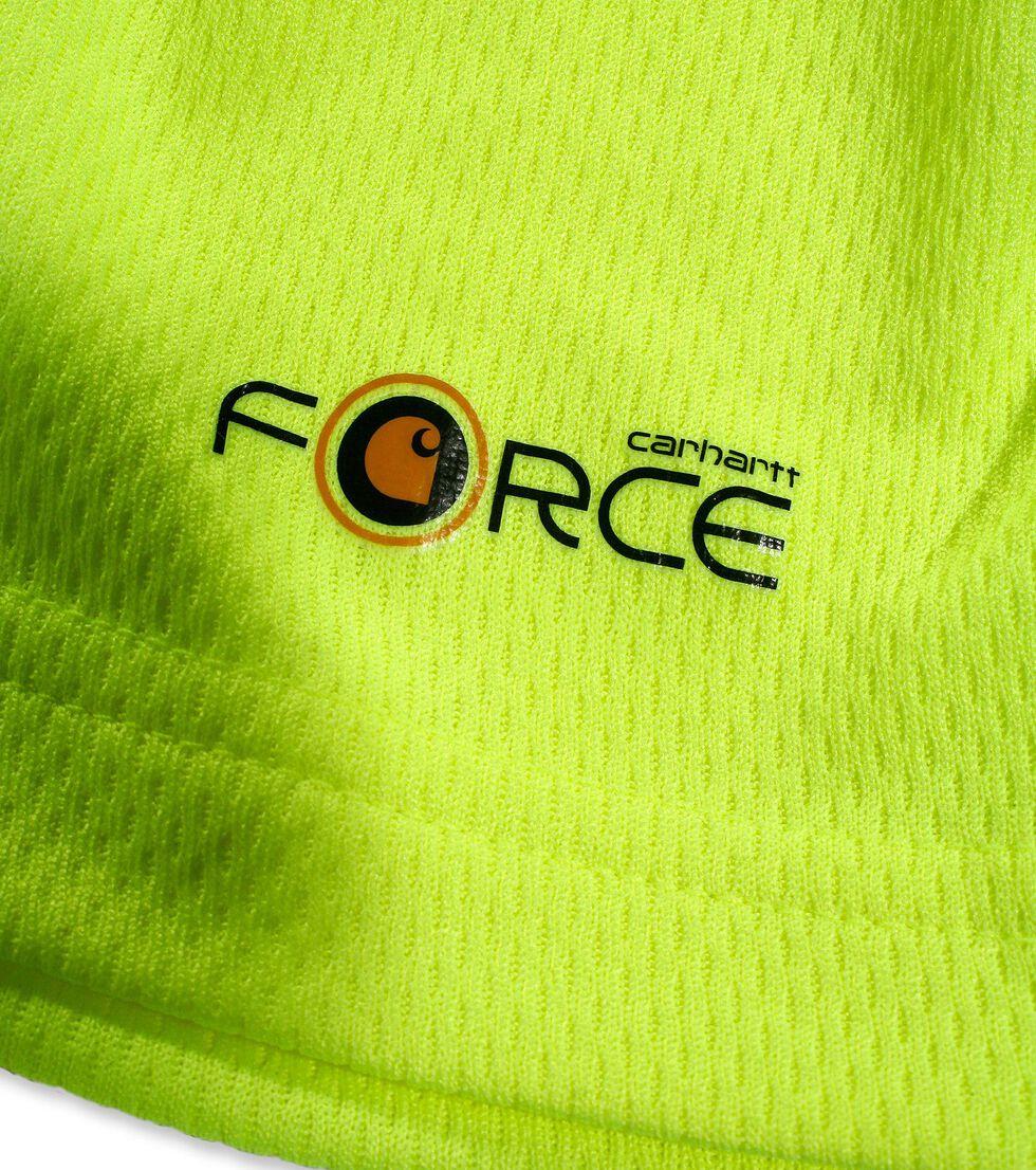 Carhartt Force Color-Enhanced T-Shirt - Big & Tall, Lime, hi-res