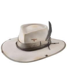 Bullhide Silverbelly Searing Desert Premium Wool Felt Western Hat, Silver Belly, hi-res