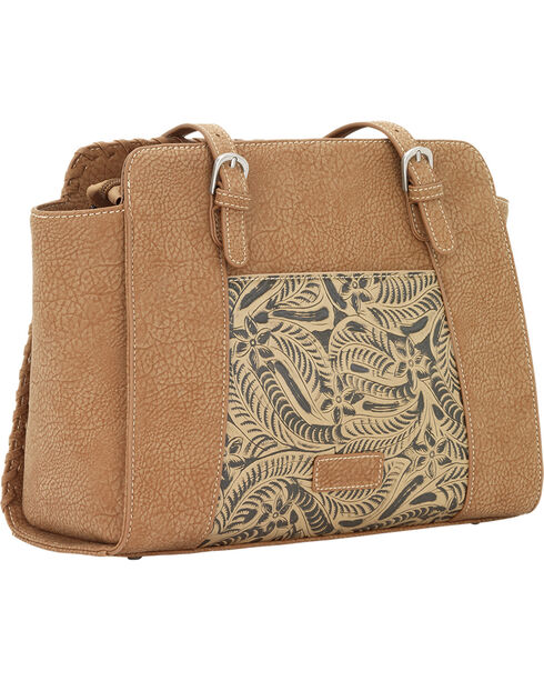 Bandana By American West Women's Trinity Trail Zip Top Tote, , hi-res
