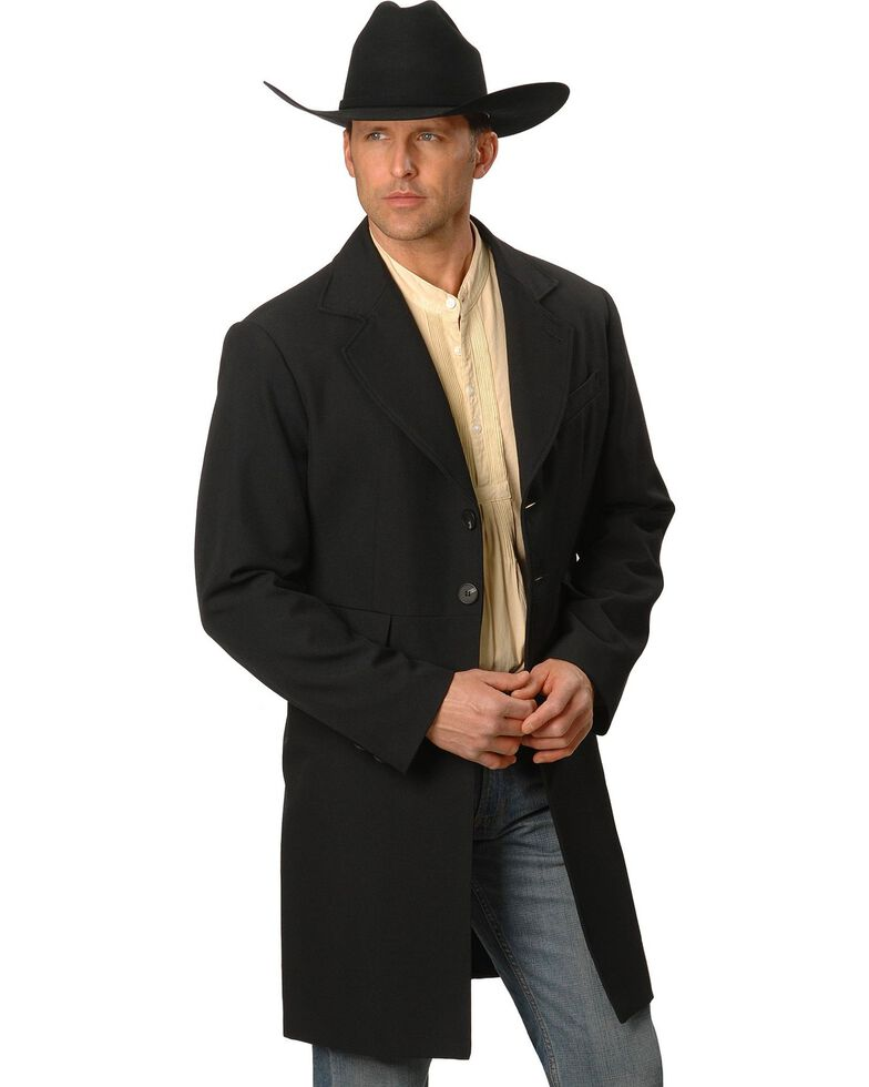 WahMaker by Scully Wool Blend Frock Coat - Tall, Black, hi-res