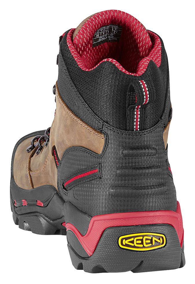 Keen Men's Pittsburgh Mid Waterproof Boots - Steel Toe, Bison, hi-res