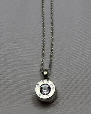 SouthLife Supply Co. Dolly Bullet Pendant, Silver, hi-res