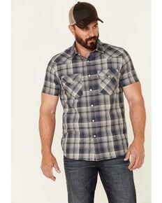 Pendleton Men's Multi Frontier Small Plaid Short Sleeve Snap Western Shirt , Multi, hi-res