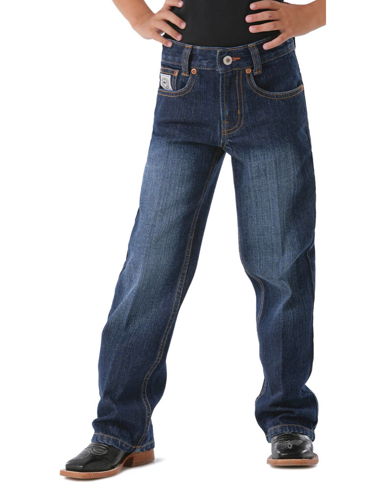 Cinch Toddler Boys'  White Label Dark Denim Jeans, Denim, hi-res