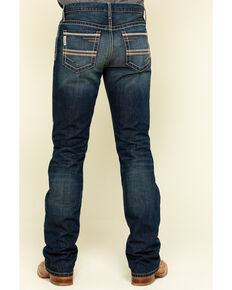 Cinch Men's Ian Rigid Dark Slim Bootcut Jeans , Indigo, hi-res