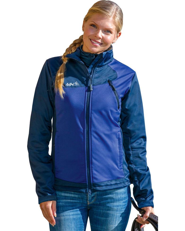 Mountain Horse Women's Cortina Softshell Jacket, Midnight, hi-res