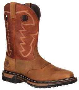Rocky Men's Original Ride Western Boots, Tan, hi-res