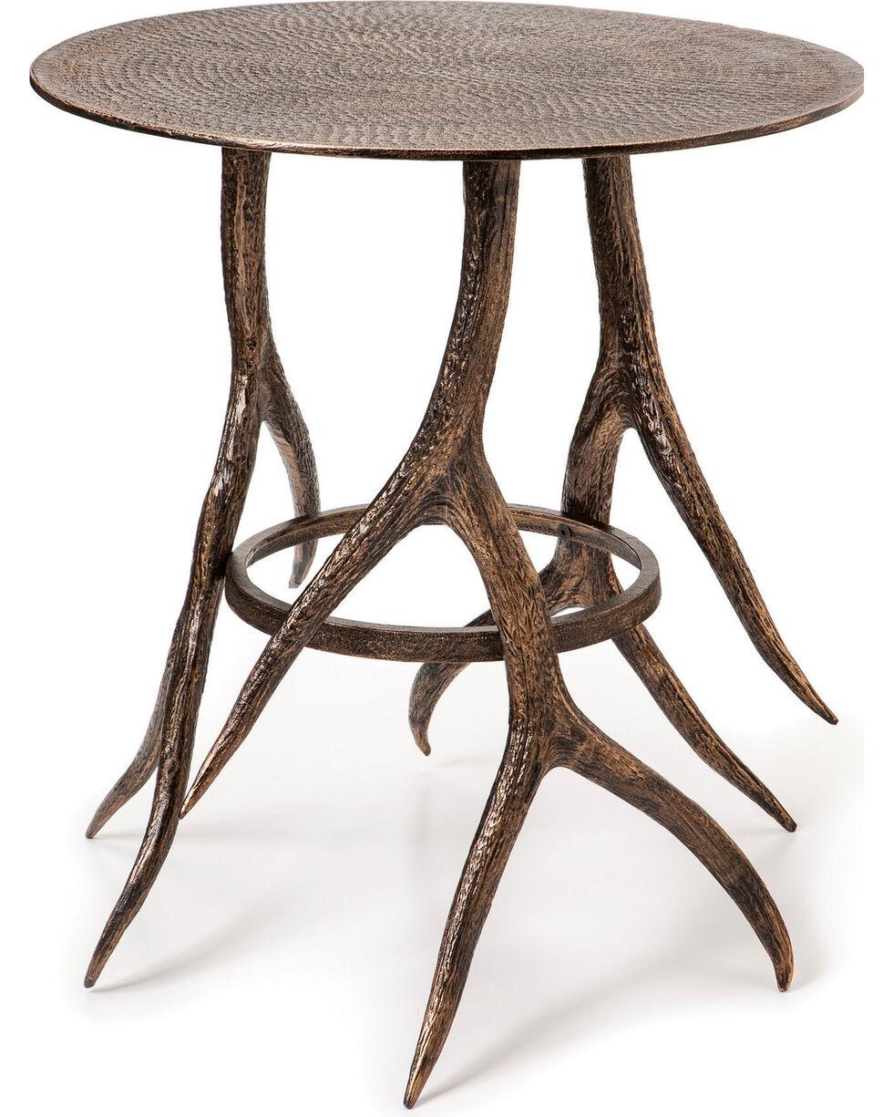 Big Sky Carvers Antler Cafe Table, Bronze, hi-res