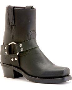 Frye Women's Harness 8R Boots, Black, hi-res