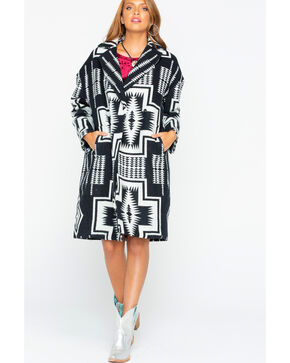 Pendleton Women's Harding Cocoon Coat , Black, hi-res