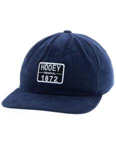 HOOey Men's Navy Roy Original Logo Patch Trucker Cap , Black, hi-res