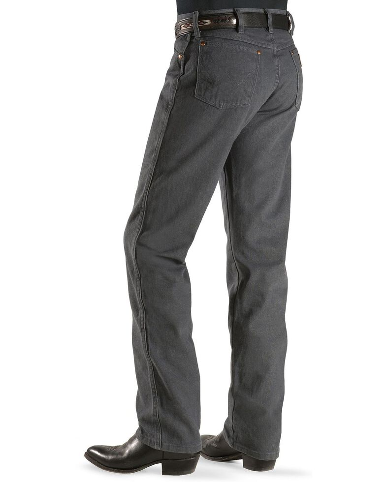 Wrangler 13MWZ Cowboy Cut Original Fit Jeans - Prewashed Colors, Charcoal Grey, hi-res