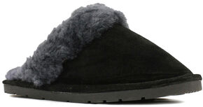 Lamo Dije California Women's Scuff Slippers , Black, hi-res