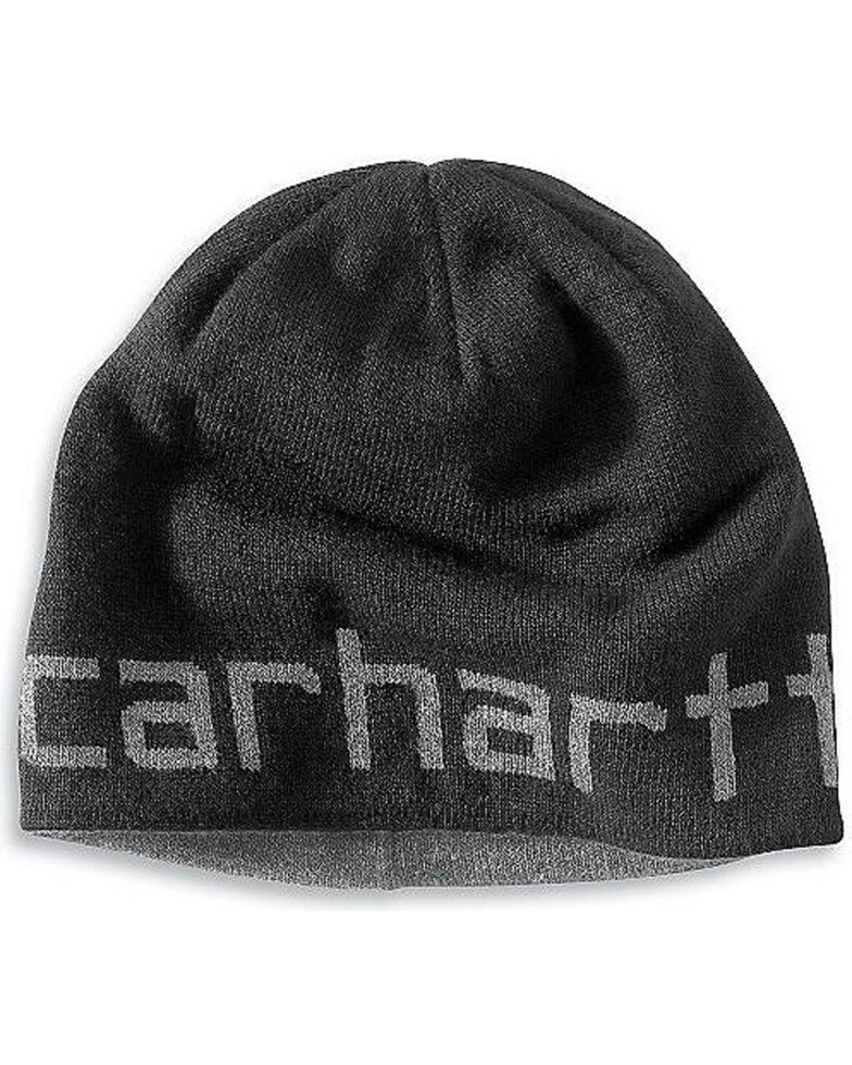 Carhartt Logo Reversible Knit Hat, , hi-res