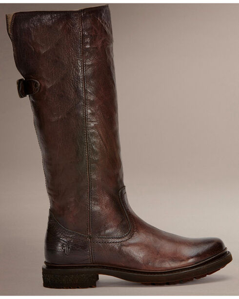Frye Women's Valerie Pull-On Boots, Dark Brown, hi-res