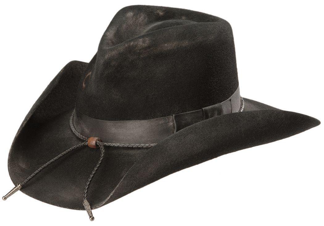 ca94e7cebcc40 ... discount charlie 1 horse dusty desperado 3x wool hat black hi res e2d5d  17fdf