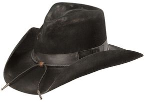 Charlie 1 Horse Dusty Desperado 3X  Wool Hat, Black, hi-res