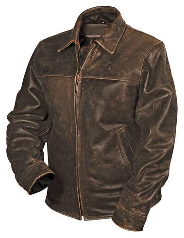 STS Ranchwear Women's Rifleman Brown Leather Jacket | Sheplers