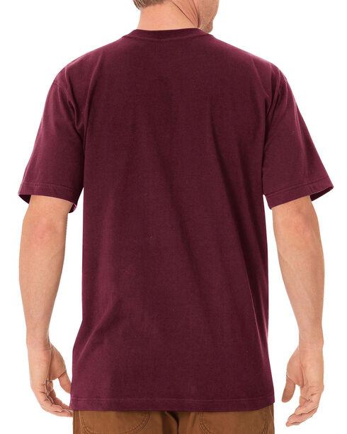 Dickies Heavyweight T-Shirt, Burgundy, hi-res