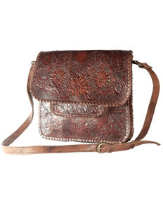Kobler Leather Women's Sitka Crossbody Bag, Dark Brown, hi-res