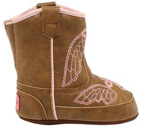 Blazin Roxx Gracie Baby Bucker Boots, Brown, hi-res
