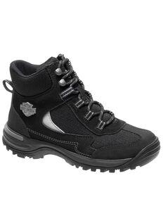 Harley Davidson Women's Waites Work Boots - Composite Toe, Black, hi-res