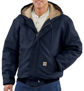 Carhartt Flame Resistant Midweight Active Jacket - Big & Tall, Navy, hi-res
