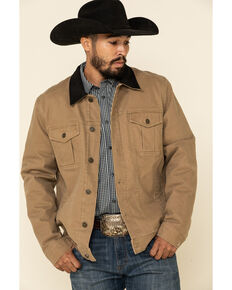 Cody James Men's Ozark Washed Down Rancher Jacket , Lt Brown, hi-res