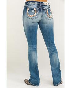 f8b20c89cda Miss Me Womens Horse Medium Wash Bootcut Jeans, Blue, hi-res