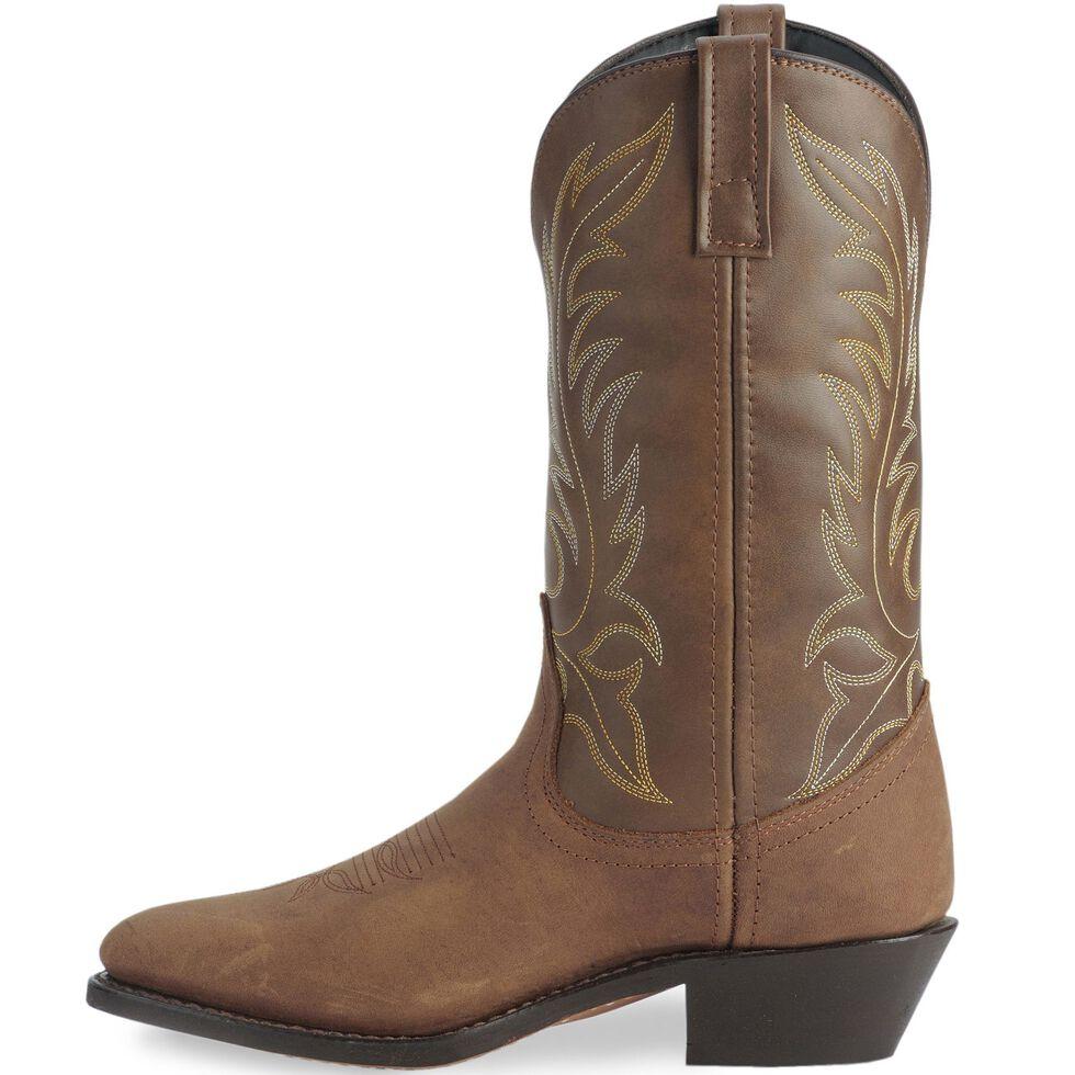 Laredo Tan Kadi Cowgirl Boots - Medium Toe, Tan, hi-res