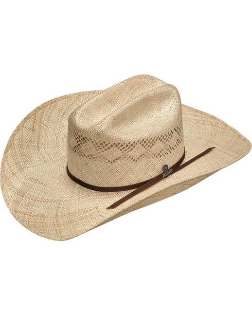 Ariat Men's Natural 7X Sisal Cowboy Hat , Natural, hi-res