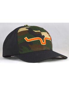 fbda40f3 Kimes Ranch Mens Camo Bounty Hunter Logo Baseball Cap , Camouflage, hi-res