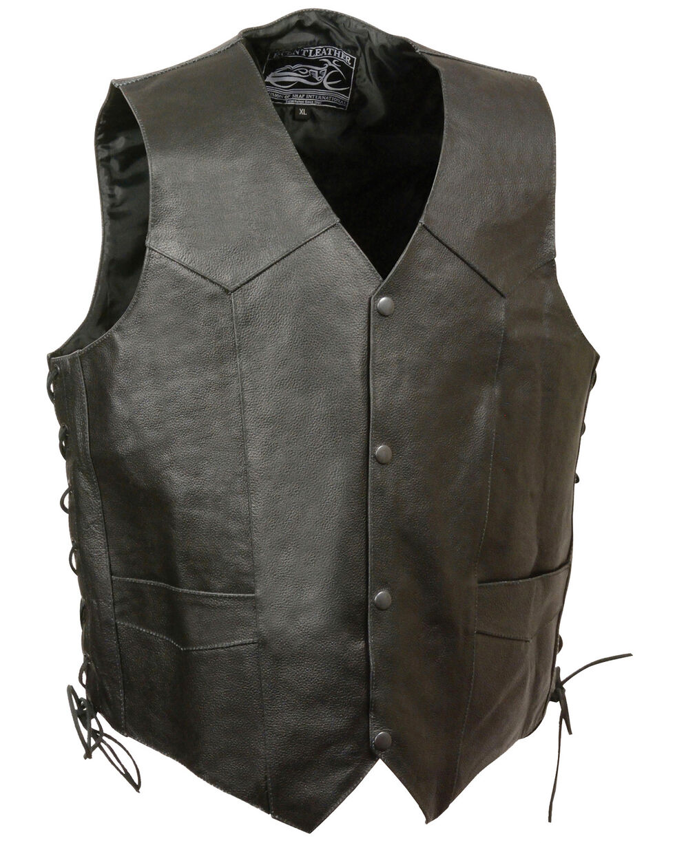 "Milwaukee Leather Men's ""Live to Ride"" Flying Eagle Vest - 5X, , hi-res"