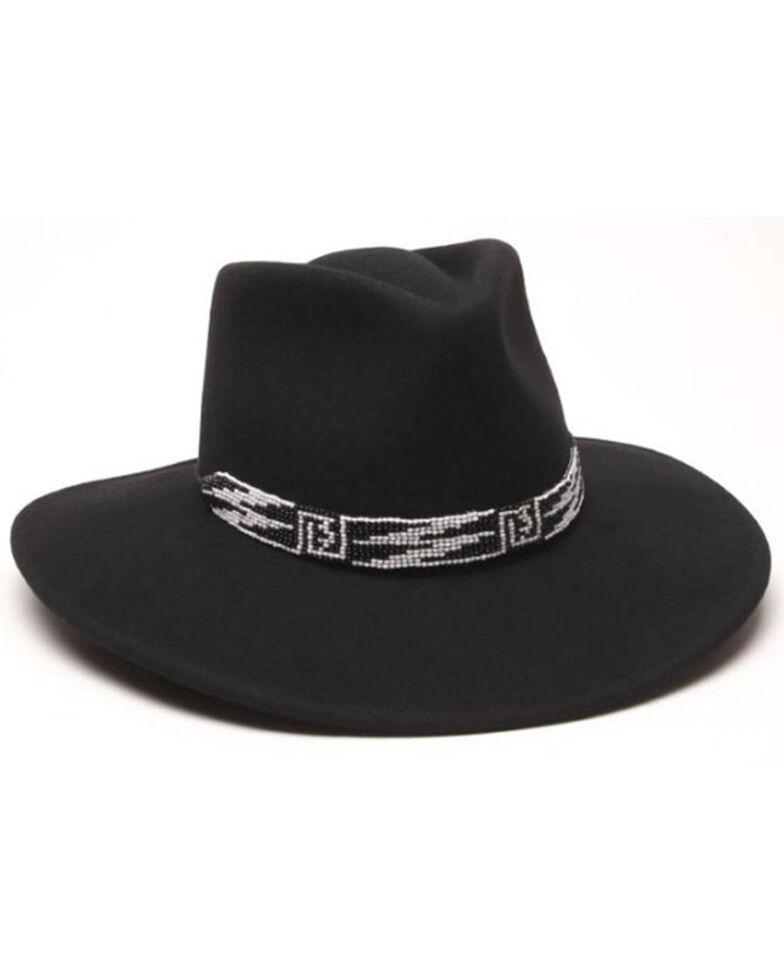 Ale' By Alessandra Women's Black Santa Fe Western Wool Felt Hat , Black, hi-res