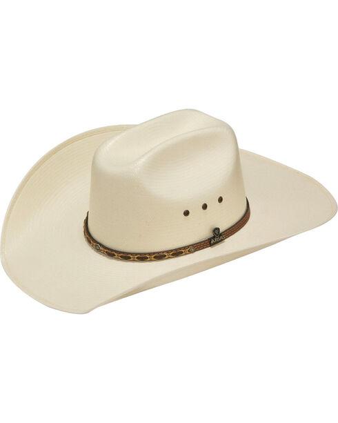 Ariat Men's 20X Traditional Cowboy Hat, Ivory, hi-res