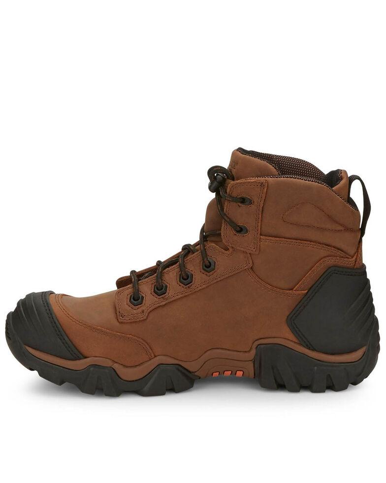 "Chippewa Men's Atlas 6"" Work Boots - Composite Toe, Brown, hi-res"