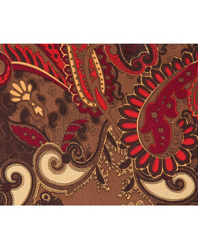 Schaefer Outfitter Paisley Wild Rag , Chocolate, hi-res