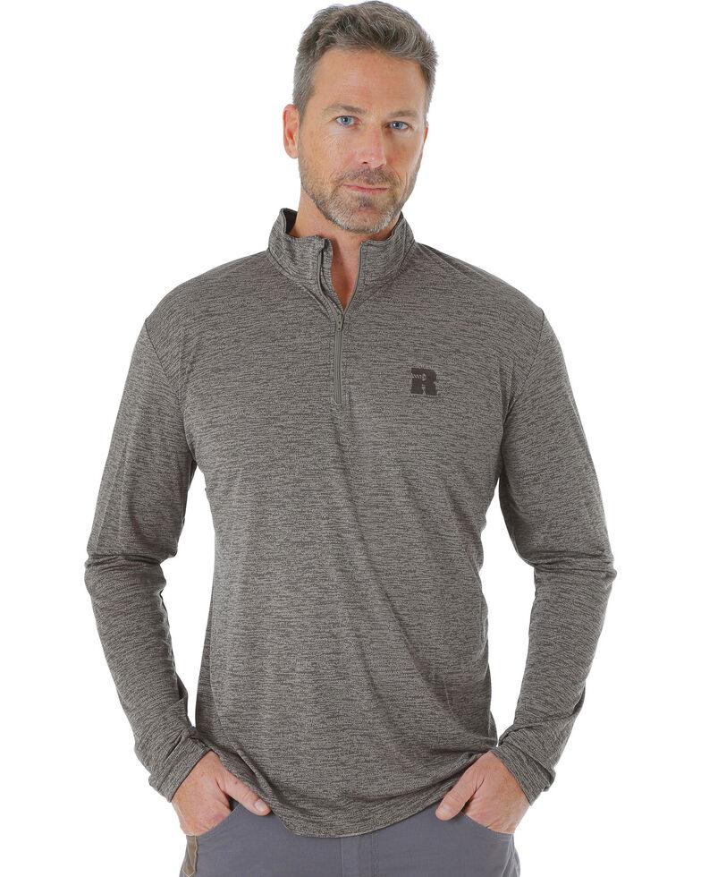 Wrangler Men s Tan RIGGS WORKWEAR® 1 4 Zip Pullover - Big and Tall ... cb75d1b63