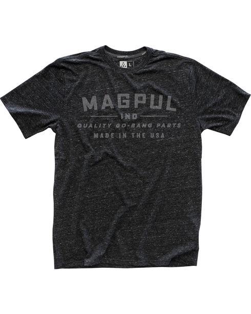 Magpul Men's Megablend Go Bang T-Shirt , Charcoal, hi-res
